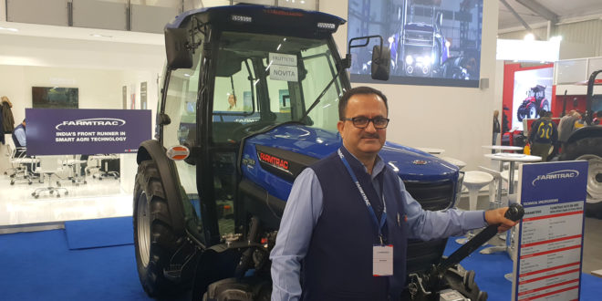 Rajiv Wahi, Gerente Internacional de Escorts Agro Maquinaria