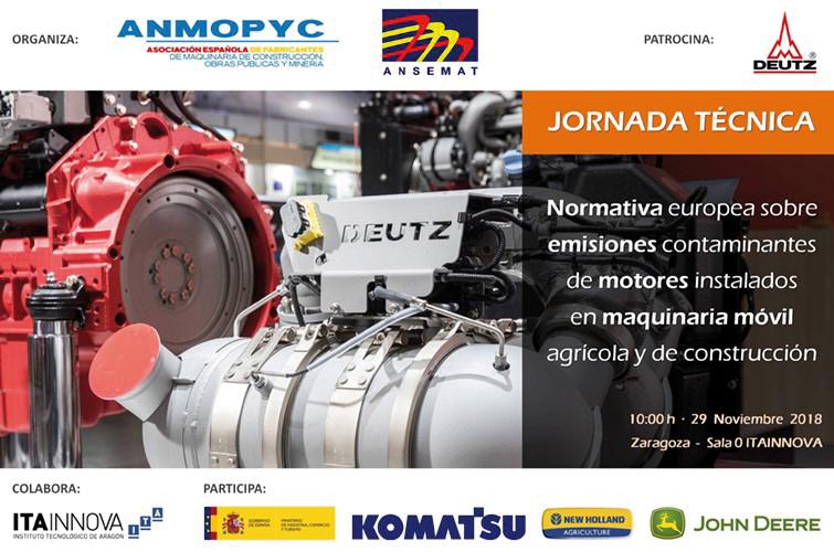Anmopyc y Ansemat organizan una jornada sobre emisiones contaminantes