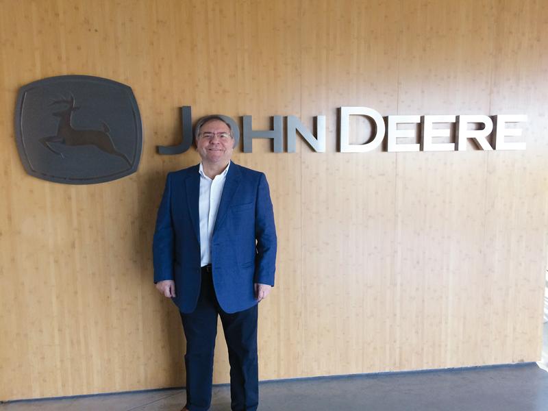 Jose Antonio Pérez, Jefe de Marketing Postventa de John Deere Ibérica