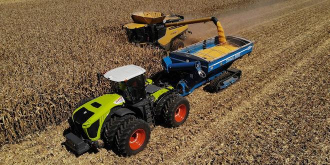 La cosechadora Claas Lexion 760 Terra Trac establece dos récords mundiales