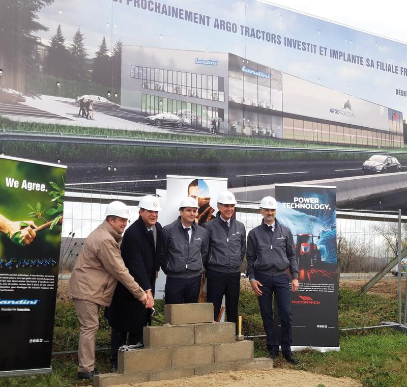 Argo Tractors filial en francia