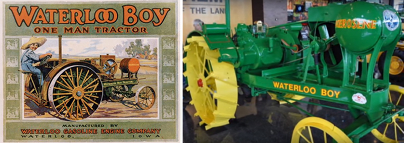 Anuncios tractor Waterloo Boy