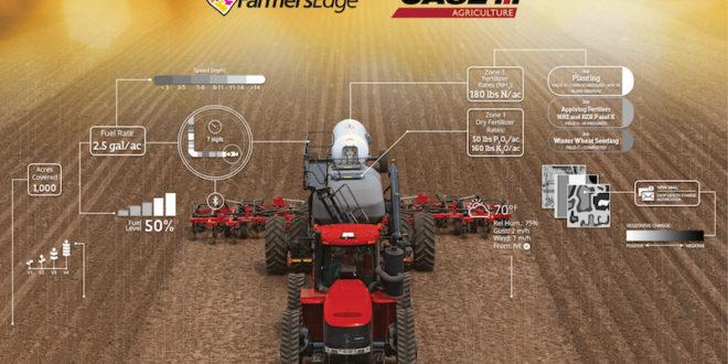 Case IH firma un acuerdo de agricultura digital con la plataforma Farmers Edge