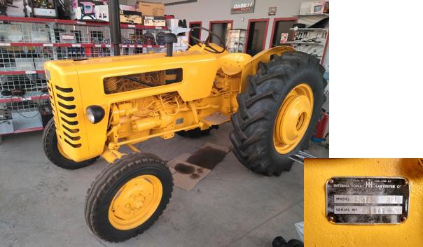 Tractor IH B 275