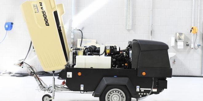 Doosan Portable Power presenta novedades en Bauma 2019