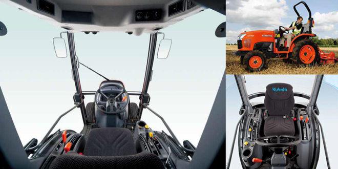 Kubota presenta el compacto ST401