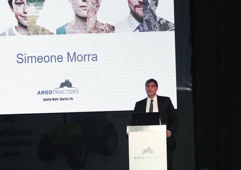 Simeone Morra, accionista de Argo Tractors
