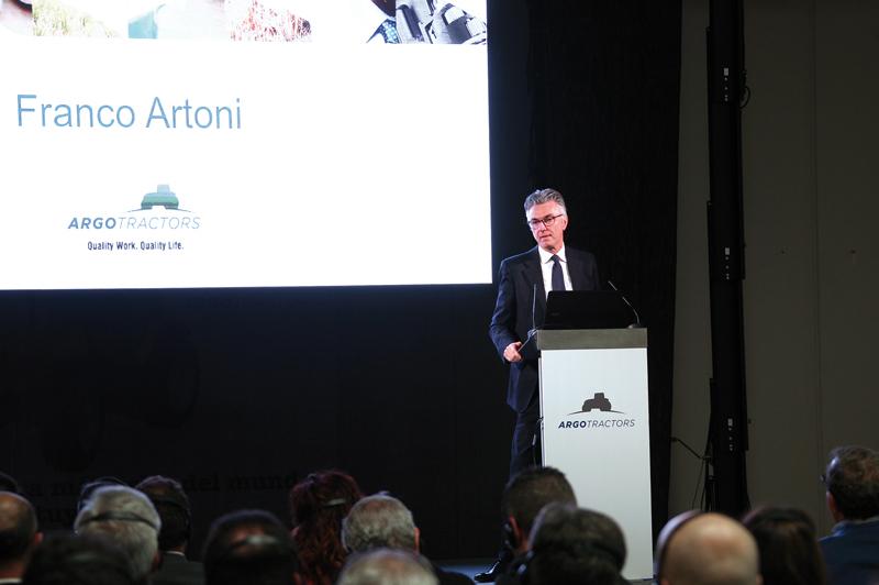 Franco Artoni, Responsable de Desarrollo de negocios de Argo Tractors