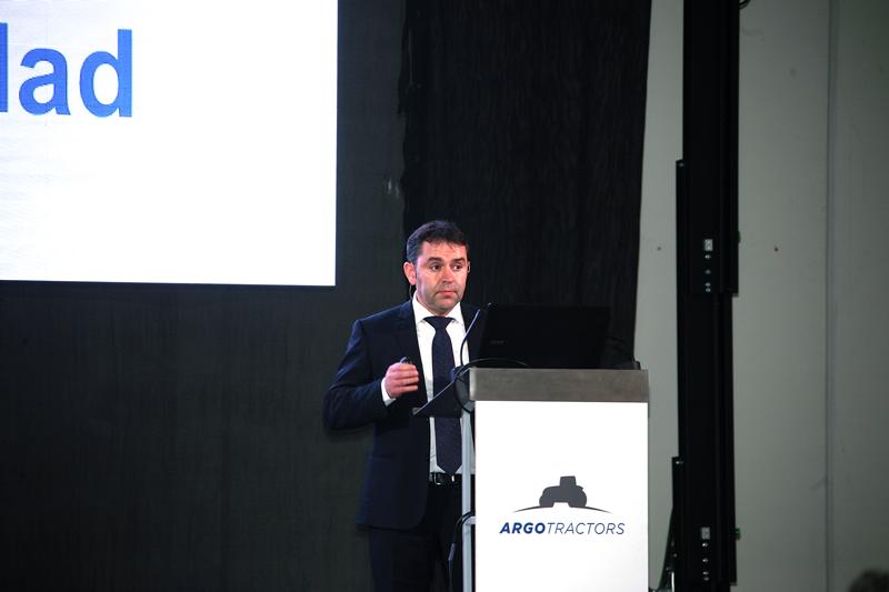 Andrés Moradas, Director General de Agriargo Ibérica