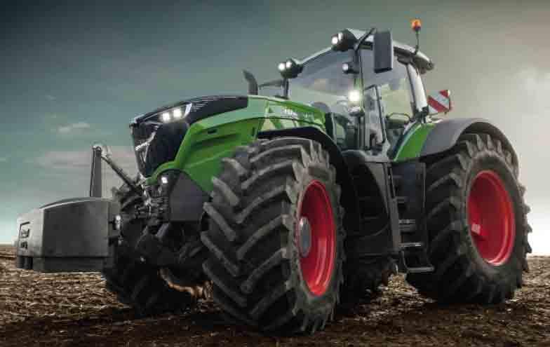 Tractor Fendt de la serie 1000 Vario
