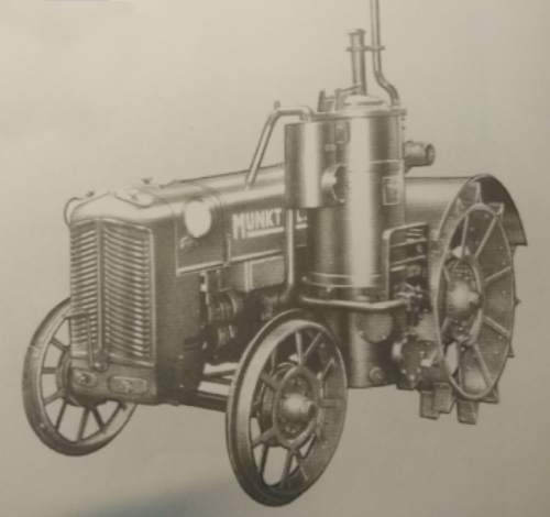 Tractor Munktell, antecesor de la marca Valtra
