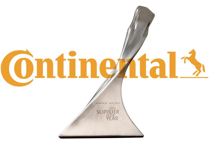 Continental Proveedor del Año 2018 de General Motors