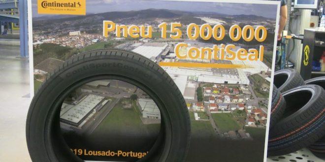La planta de Continental en Lousado (Portugal) alcanza los 15 millones de neumáticos ContiSeal