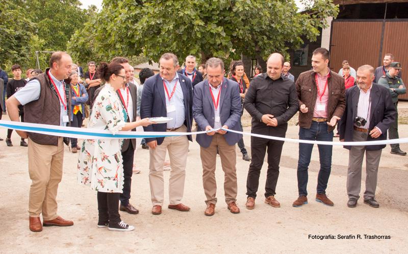 Inauguración del museo Trasliste