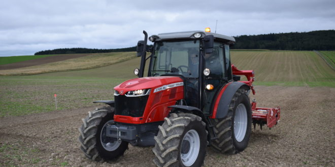 "Massey Ferguson 3709 AL. Finalista ""Best Specialized"" Tractor of The Year 2020″"