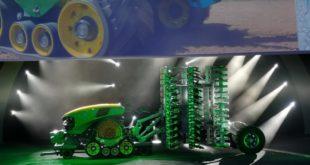 John Deere prototipo tractor autónomo y eléctrico