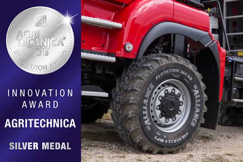 ALLIANCE 398 Agritechnica Inno Award Silver