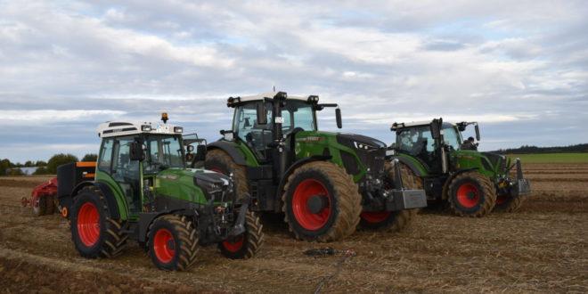 Fendt 942 Vario, Fendt 314 Vario y Fendt e-100 Vario. Finalistas al Tractor of The Year 2020