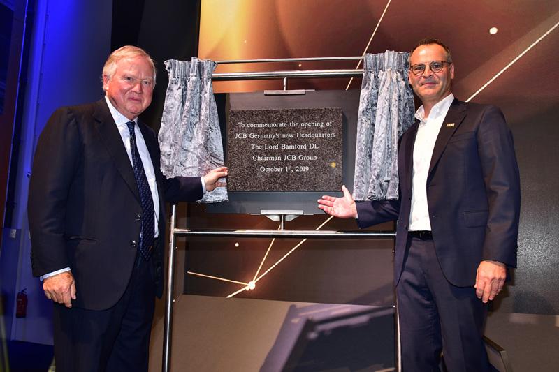 The new £50 million JCB Germany HQ