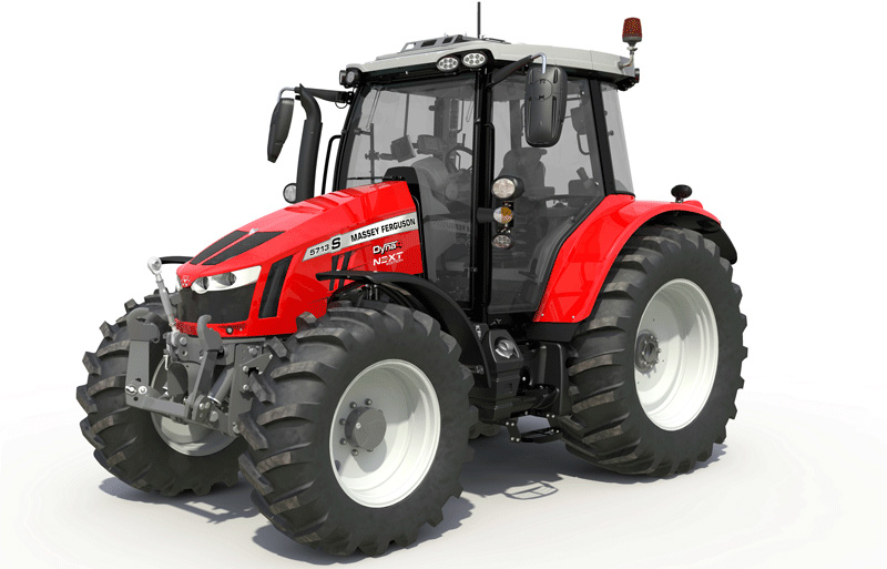 Massey Ferguson 5713S Red Black Next