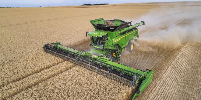 John Deere cosechadora X9