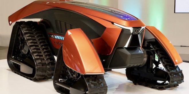 Kubota conmemora su 130 aniversario con un espectacular prototipo