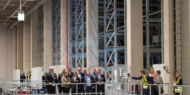 CLAAS inaugura la nueva ampliación de su Centro de Logístico de Recambios