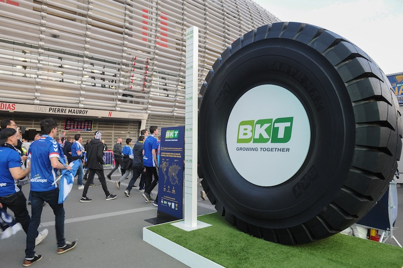 BKT patrocinador de Ligue 2 francesa