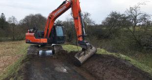 Excavadora Doosan DX160LC 5 HT
