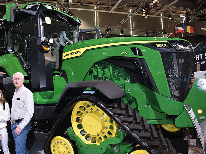 Tractor John Deere Serie 8R