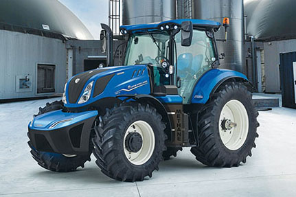 Tractor T6 Methane Power New Holland