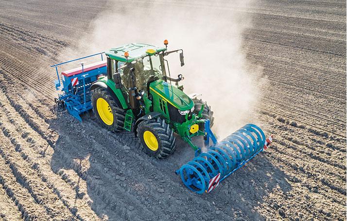 Tractor John Deere Serie 6M