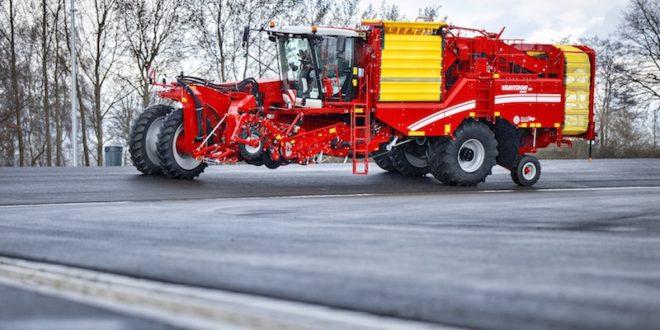 GRIMME inaugura una pista de prueba para cosechadoras autopropulsadas