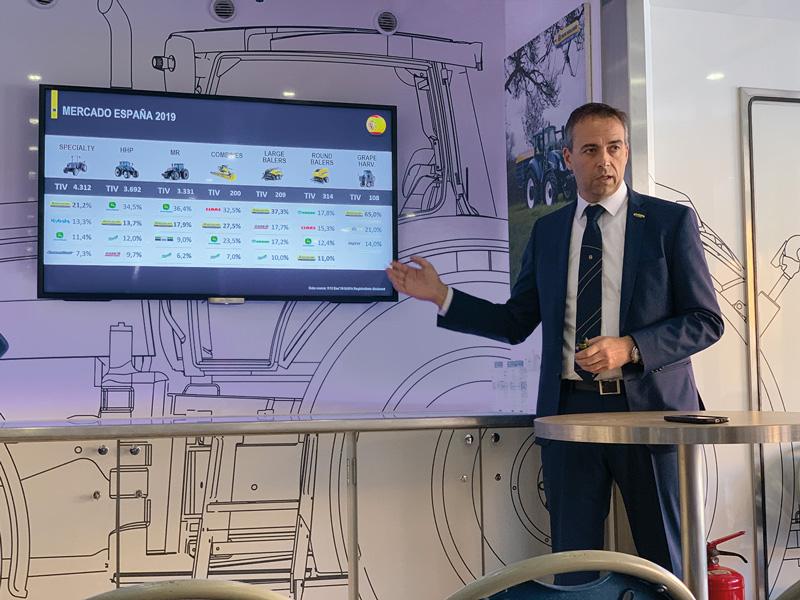 Riccardo Angelini, Director General de New Holland en España