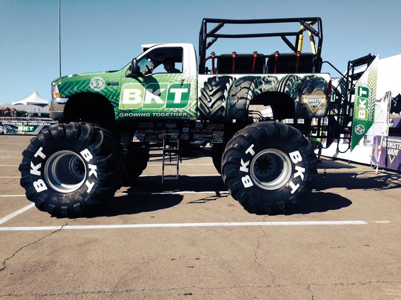 BKT Monster Truck