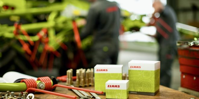 CLAAS asegura el suministro de recambios con el máximo compromiso