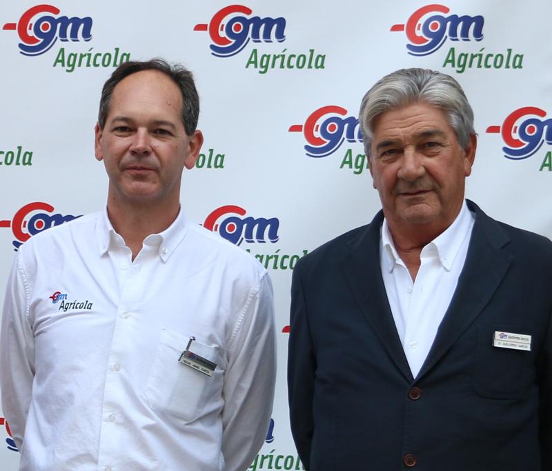 Miguel Angel García, director general junto a su padre Guillermo García gerente y fundador de GGM Guillermo García