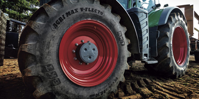 BKT responde a la agricultura moderna con sus neumáticos radiales AGRIMAX
