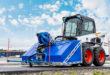 Bobcat lanza un implemento de limpieza a presión para sus cargadoras