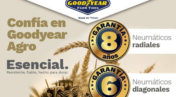 Goodyear: una gama de neumáticos agrícolas amplia y segura