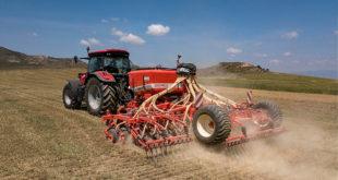 sembradora neumática con chasis plegable Gigante Pressure de Maschio Garpardo