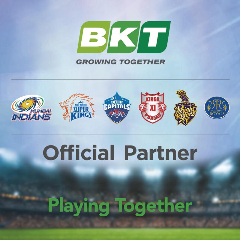 BKT Cricket Sponsorship