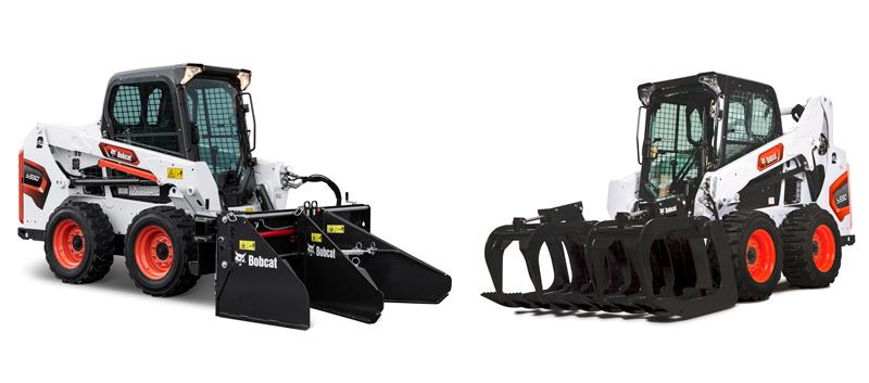 Bobcat cargadoras compactas de orugas modelos S550 y S590