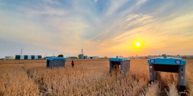 Google muestra unos revolucionarios robots de inspección de cultivos