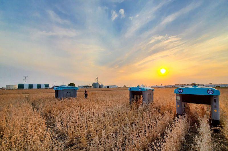 Robots cultivos autonomos