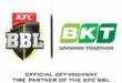 BKT intensifica su asociación con la liga australiana de críquet (KFC Big Bash League)