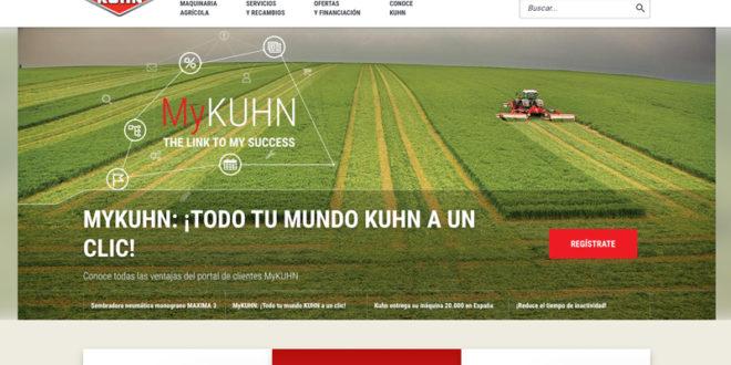 Kuhn Ibérica actualiza su web con nuevas funcionalidades y un uso mejorado