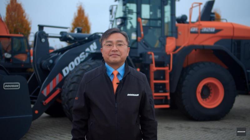 Charlie Park, CEO de Doosan Infracore Europe