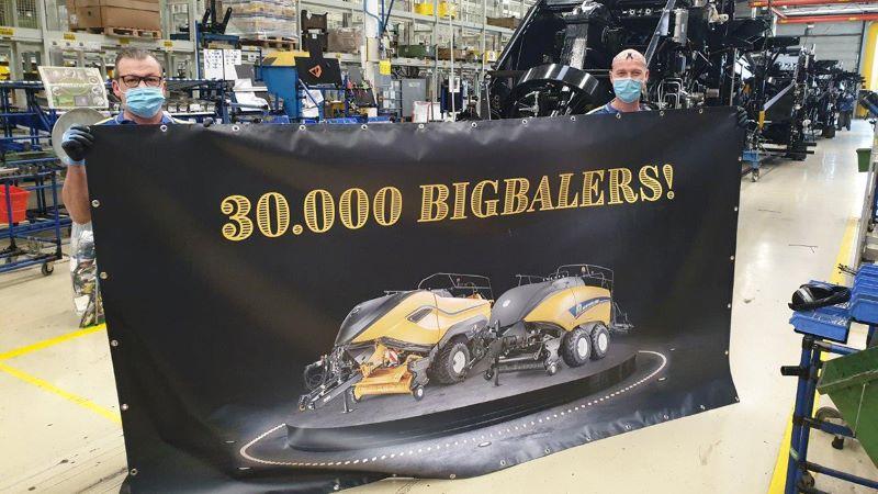 30 000 BigBalers New Holland