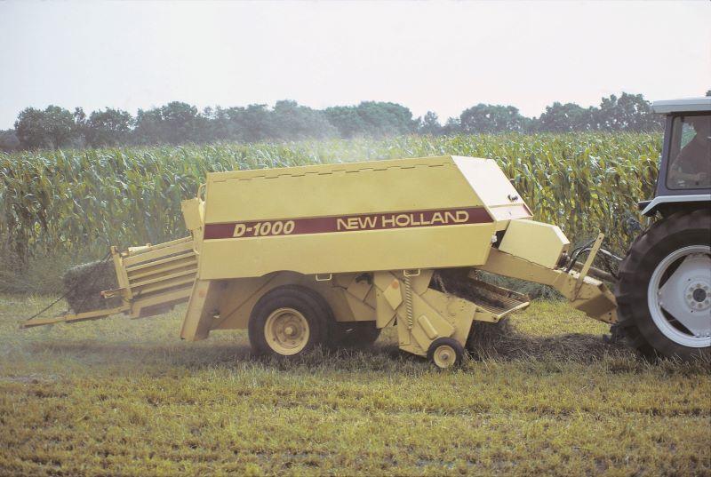 Empacadora D-1000 New Holland